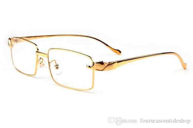 망 무테 물소 뿔 안경 골드 실버 정신 표범 프레임 높은 품질 2020 패션 선글라스 선글라스 lunettes gafas 드 졸