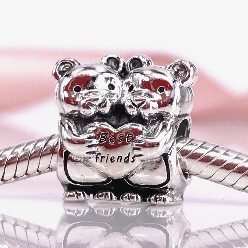 Pandora Women Silver Bead Charm - 792151 2IdyG0X2Wl