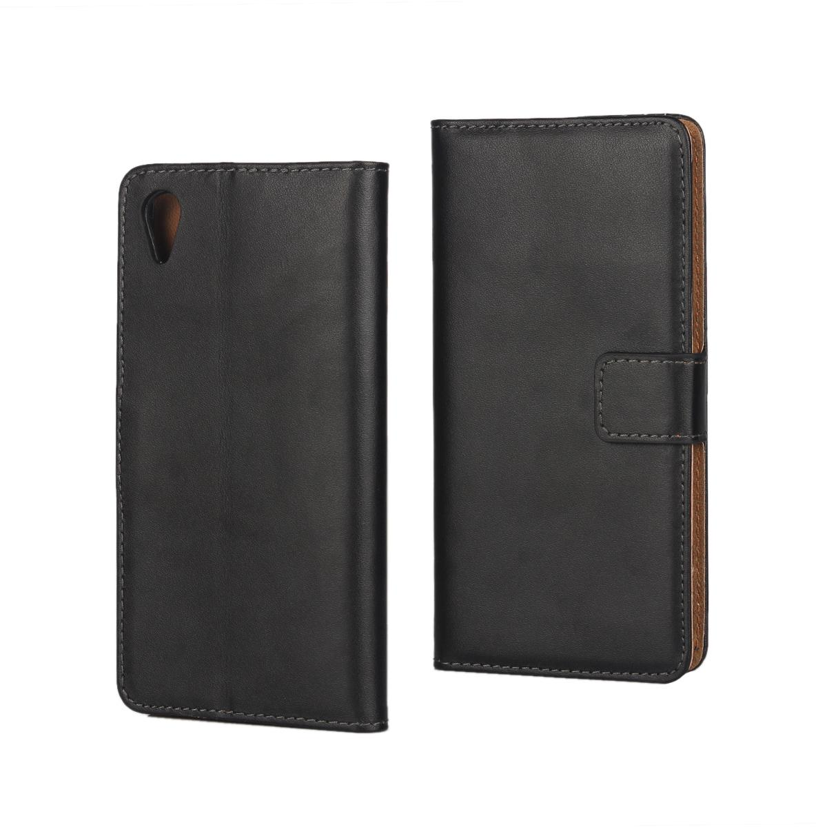 Genuine Real Wallet Leather Case For Sony Xperia X/ XA/ X Performance XP Flip Money Pocket Cover Purse Credit ID Card Holder Pouches
