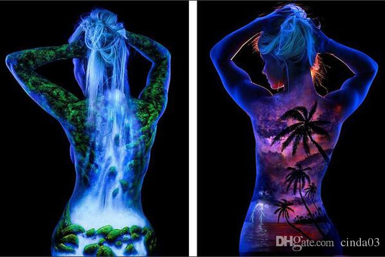 Wholesale 5X Glowing Face Body Blacklight Paint 15g For ...