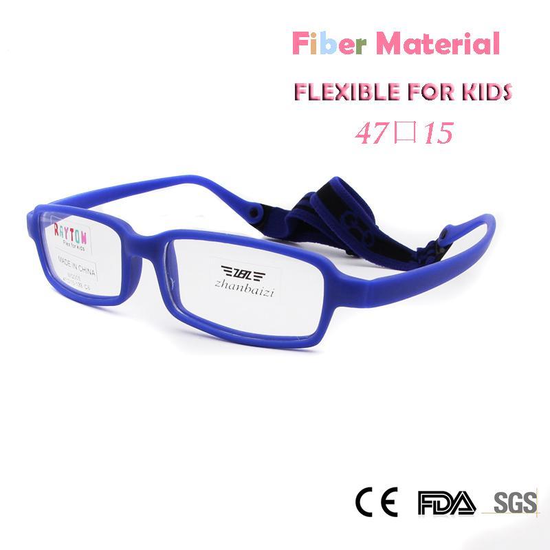Wholesale- ZBZ Kids Glasses Frame Girls Flexible Fiber Material New ...