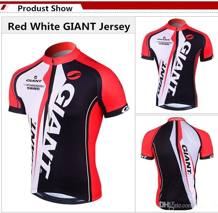 Red Giant Team Cycling Jerseys Shirts for Men Ropa Ciclismo Breathable Racing Short Sleeves Cycling Clothes Suits High Quality Padded Pants