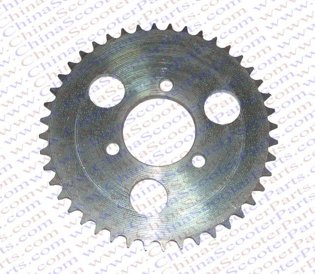 Wholesale- 44 Tooth 44T T8F 35MM Rear Sprocket 47cc 49cc Mini Moto ATV Quad  Dirt Pit Pocket Bike Parts