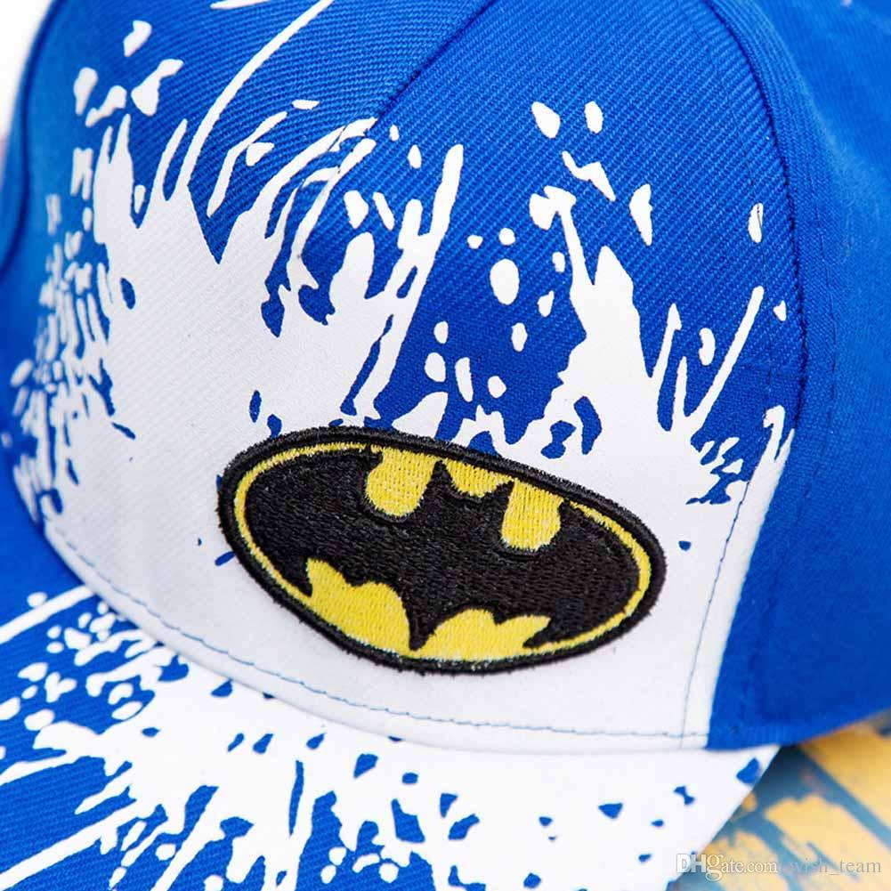 2017 새로운 Snapback Caps Gorras 남여 키즈 힙합 Snapback 배트맨 캡 조정 가능한 플랫 모자 4 색