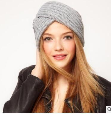3df598aee36 Hot Sale Adults Bohemian Knit Hat Cap Cross Cap Six Colors Can ...