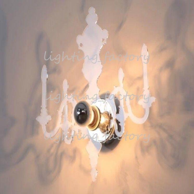 Großhandels-Moderne Ligne Roset Wand-Licht-projektiver Louis 5D Illusiness-Kerzen-Wand-Lampen-Spiegel-Schatten-Beleuchtung