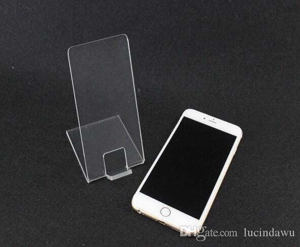 Acrylic Mobile cell Phone holder Display Rack Desktop digital store acrylic display rack