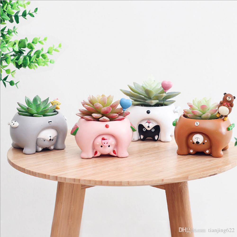 2018 funny animal shaped cartoon desktop decoration. Black Bedroom Furniture Sets. Home Design Ideas