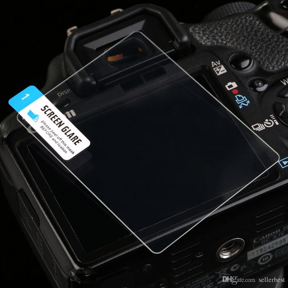 0.5 мм Камера закаленное стекло ЖК-экран панель Filam протектор HD гвардии водонепроницаемый чехол для Nikon D7200 камеры Оптовая цифровой