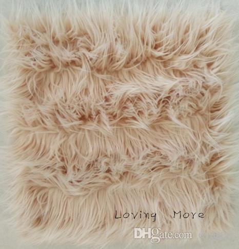 85cm x 90cm Faux Fur, Newborn Photo Prop, Mongolian Faux Fur Baby Prop, Basket Filler, Layering Blanket.