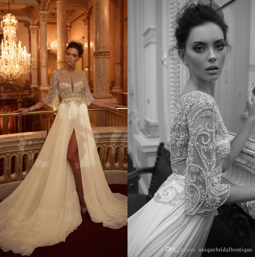 Chiffon Couture Wedding Dresses