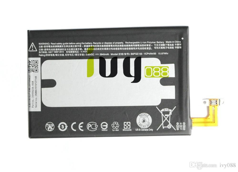 2840mah BOPGE100 Replacement Battery for HTC One M9 M9+ One M9 Plus M9W Hima Ultra 0PJA10 0PJA13 M9pt Batteries Batteria