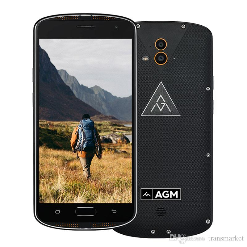 5.5Inch AGM X1 MobilePhone Android 5.1 Snapdragon 617 Octacore Mobilephone 4GB RAM 64GB ROM Dual Camera Mobile 5+13MP phone 2017 New Arrival
