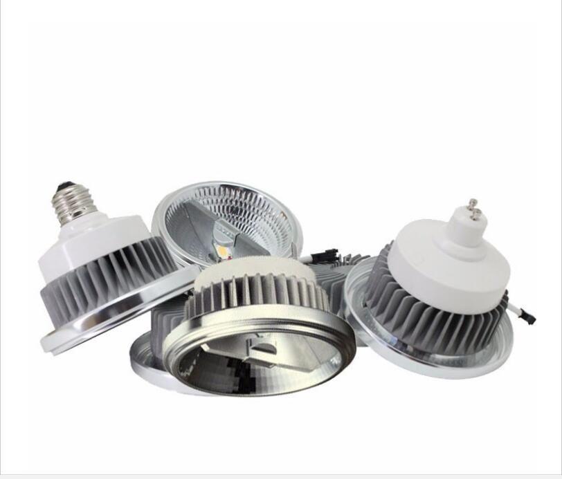 Lampe AR111 LED Puce cree GU10 Ampoule CA AC 85V-265V Blanc chaud Lampe Cool 15W