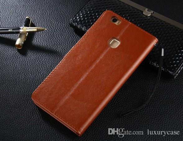 إلى Huawei Note 8 Case Brand Wallet Shell Skin Flip Cover حقيبة جلد فاخرة لهاتف هواوي Honor Note 8