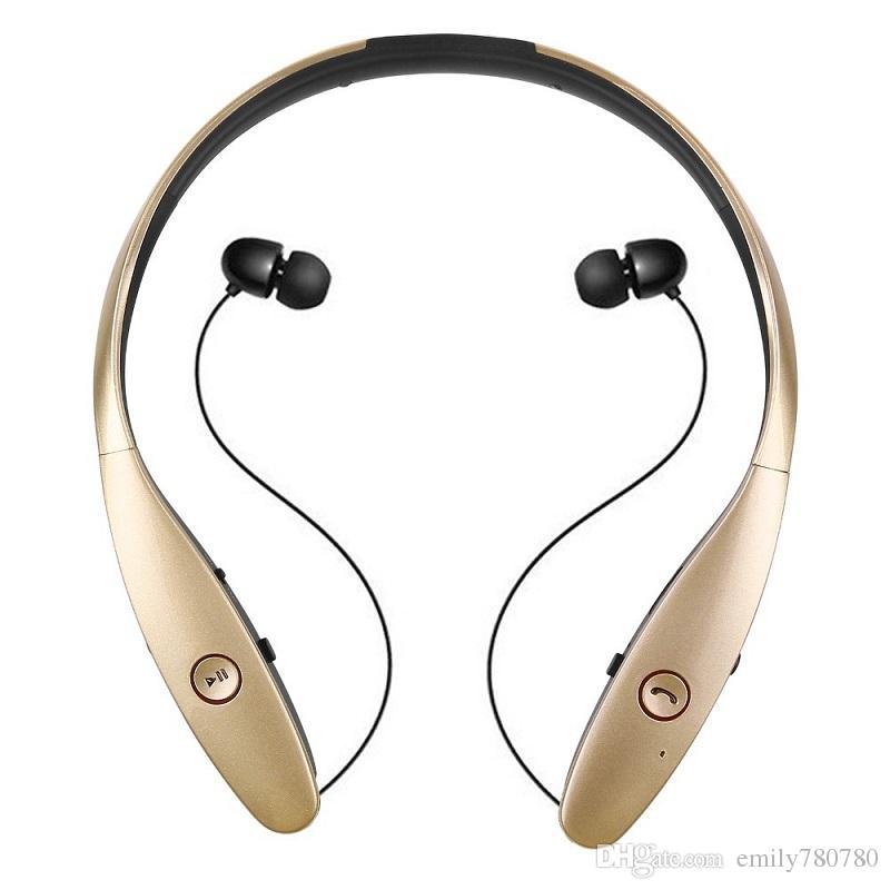 Auricolari Bluetooth HBS 900 Tone + Infinim Neckbands Auricolari stereo wireless Bluetooth 4.0 Cuffie sportive cuffie HBS900 Hard BOX