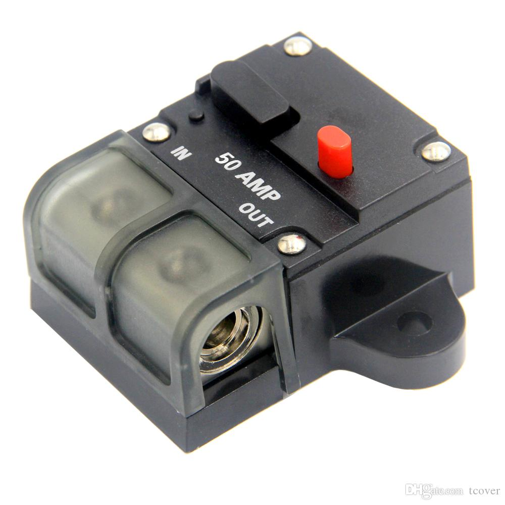 Circuit Breaker, Automotive High Current 0 2 4 8 Gauge Wire Car Auto ...