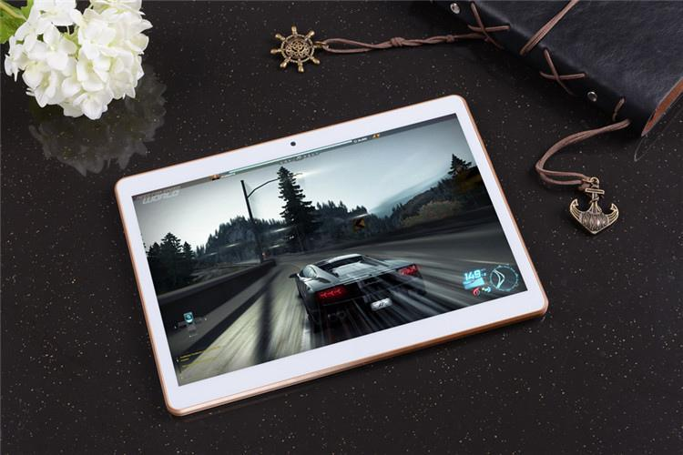10.1-inch octa-core tablet PC the smart tablet HD 1280*800 Tablet Mobile Unicom 3G / 4G Phone Call Android 5.1 ips