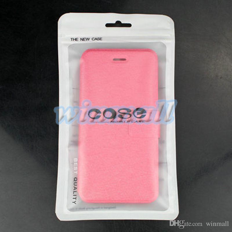 Solo borsa Chiusura a zip Accessori cellulari Custodia cellulare Custodia auricolari Cavo USB Borsa imballaggio al dettaglio OPP PP PVC Borsa imballaggio in plastica
