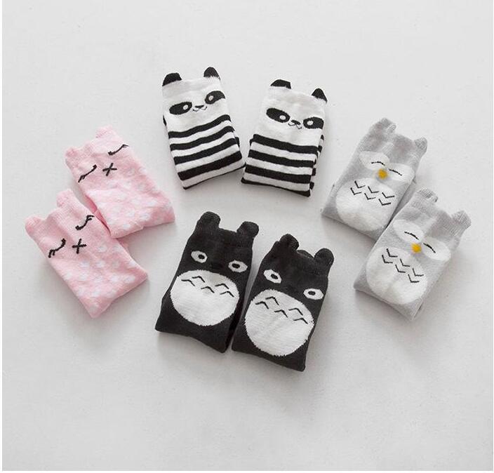 Kids Lovely 3d Animal Non Slip Socks Baby Boy Girl Leg Warmers