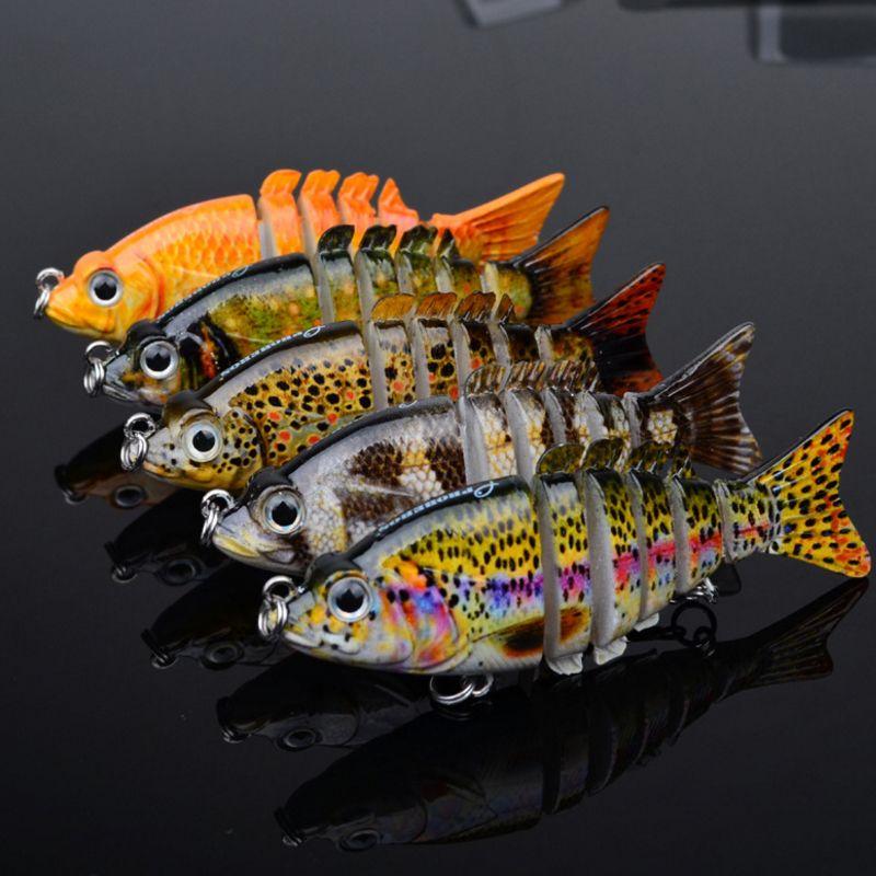 5 цвет 9 см 11г новейший многолизованный бас пластиковые рыбы приманка купальники раковины крючки снасти высокого качества рыболовные приманки