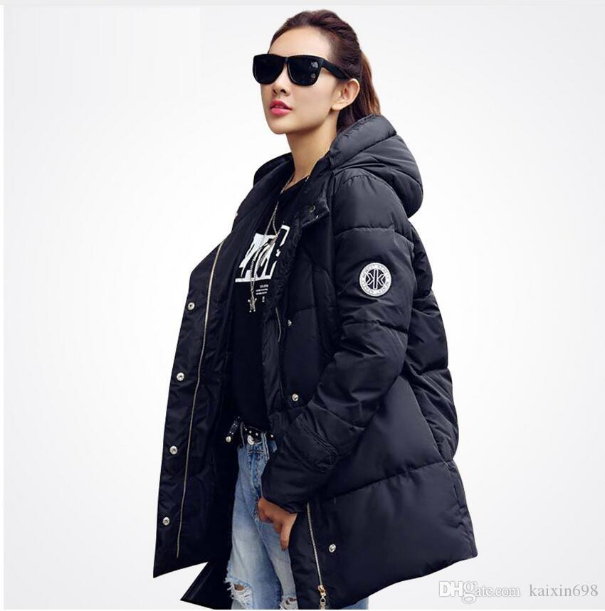 2017 2016 New Long Parkas Female Women Winter Coat Thickening ...