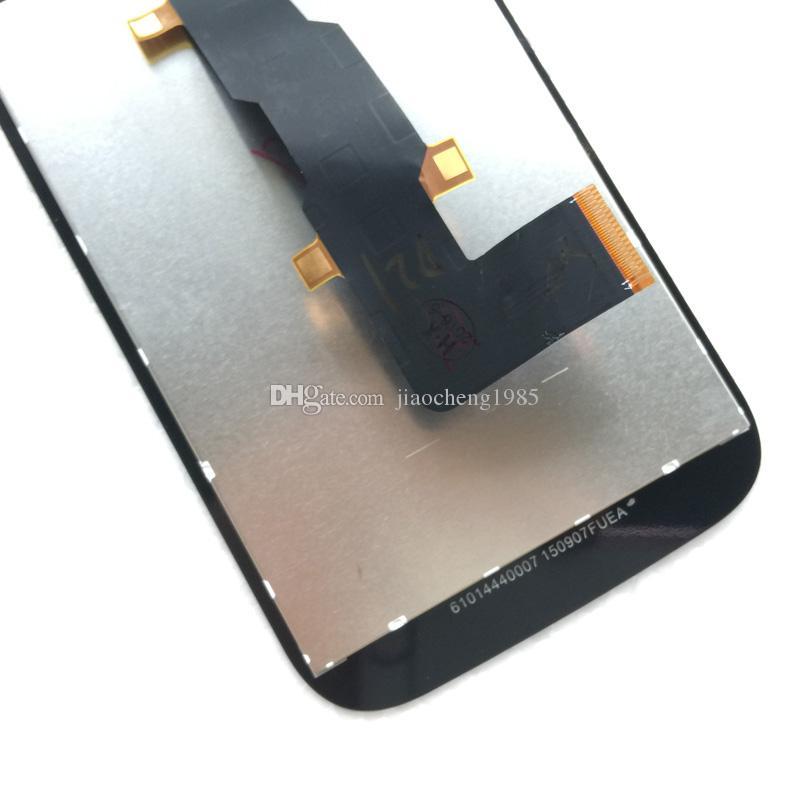 Assemblaggio con fusibile LCD da 4,5 pollici Motorola Moto E2 2nd Gen XT1526 XT1527 XT1528 Parti di riparazione nere