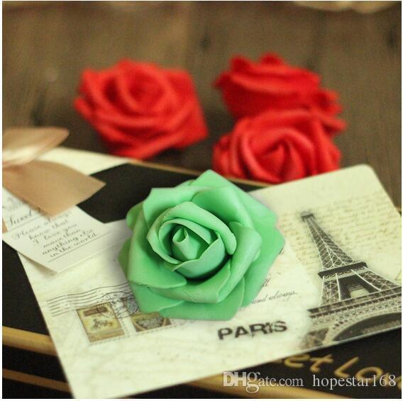 6-7 cm Çiçek Yapay Ipek Kamelya Gül Sahte Şakayık Çiçek Kafa Düğün Ev Ev Dekoratif Çiçek Süslemeleri için
