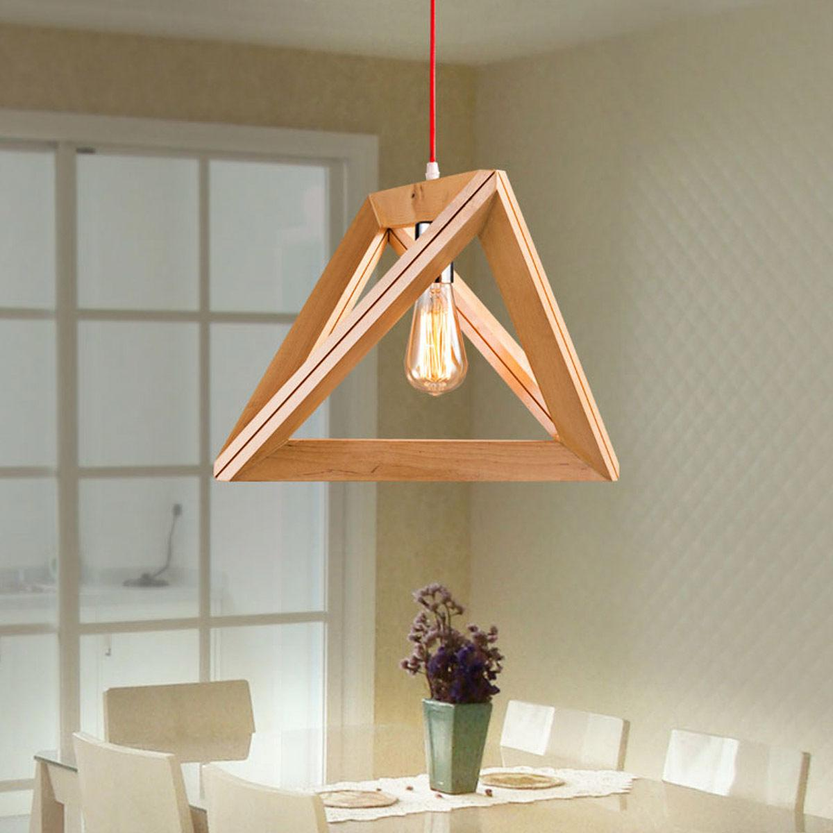 new modern art wooden ceiling light pendant lamp lighting light