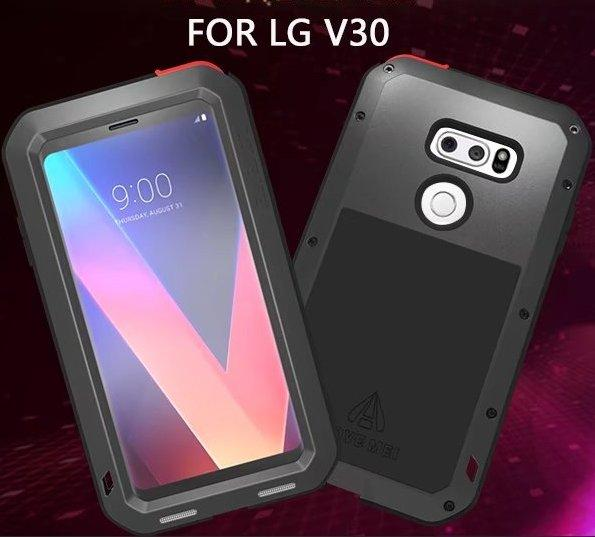 wholesale dealer 3d52e 4caa7 LOVE MEI Aluminum Metal Case For LG V30 (6 inch) Cover Powerful Armor  Shockproof Life Waterproof Case For LG V30 Coque Fundas