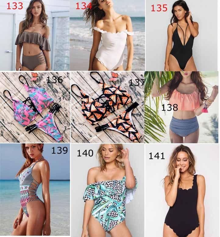 153 yeni stil 2017 yeni gelenler moda sıcak satış seksi yaprak muz baskı Üçgen tek parça Mayo lady seksi Mayo zarif Bikini