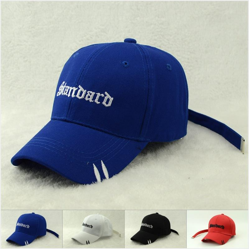 d861641463a New Designed Letter Embroidery Baseball Cap Unisex Outdoor Sport Hat Korean  Style Casual Cotton Casquette Hat Gift For Women Cap Hat Flat Caps For Men  From ...