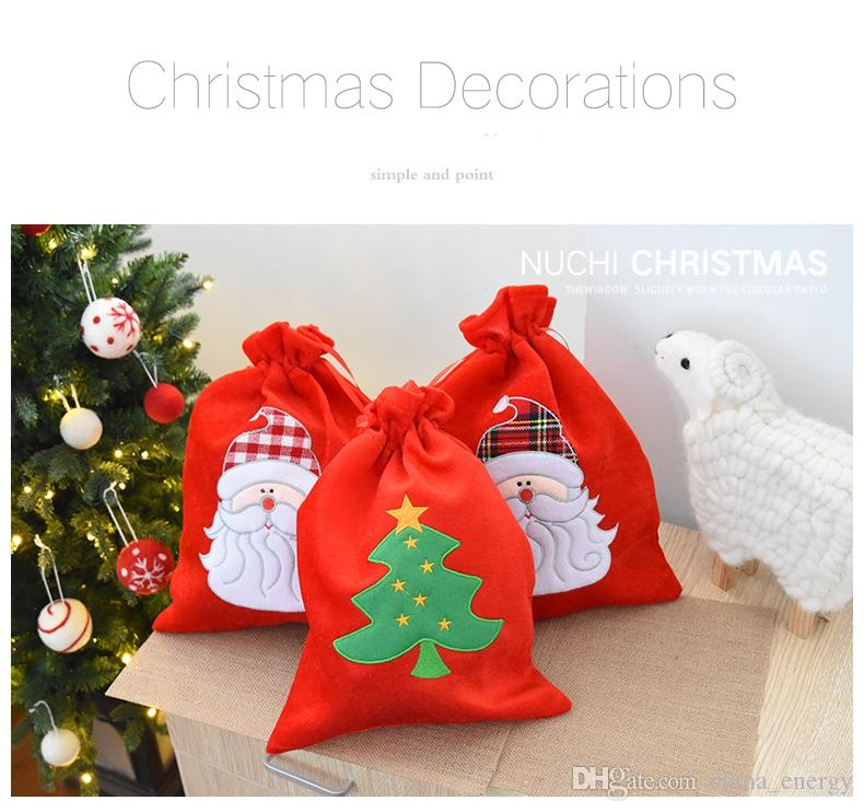 Großhandel 3 Muster Norwich Flanell Weihnachtsbaum ...