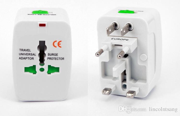 Оптовая 200 шт. / лот путешествия универсальное зарядное устройство адаптер питания для штекер сетевой фильтр универсальный международный путешествия адаптер питания Plug