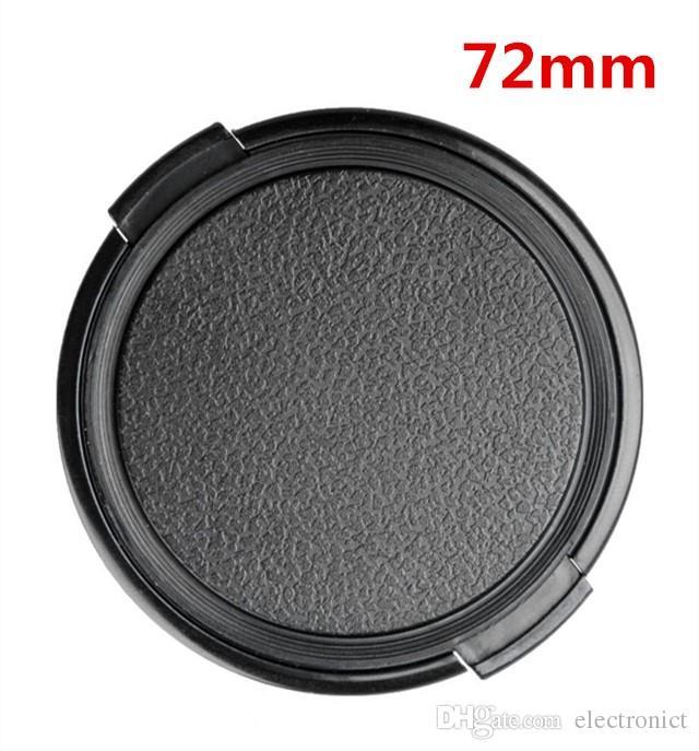 Nikon Canon 49mm 52mm 55mm 58mm 62mm 67mm 72mm 77mm 82mm 86mm Obiettivo della fotocamera Coperchio di protezione Cap Lens Front Cap DSLR Lens