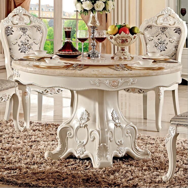 Großhandel Neuankömmling Modern Style Italienische Esstisch, 100% Massivholz  Italien Stil Luxus Esstisch Set Pfy10021 Von Tengtank, $2106.54 Auf  De.Dhgate.