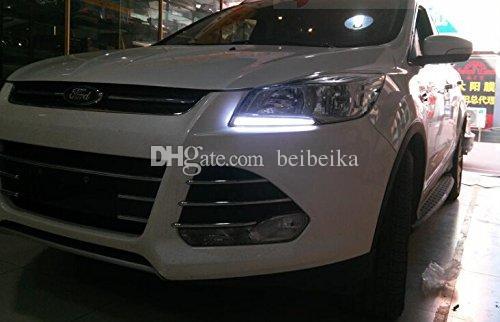 Luz running do dia da Auto-Tecnologia, jogo claro do diodo emissor de luz DRL do guia para Ford ESCAPE / Kuga 2013 2014 2015
