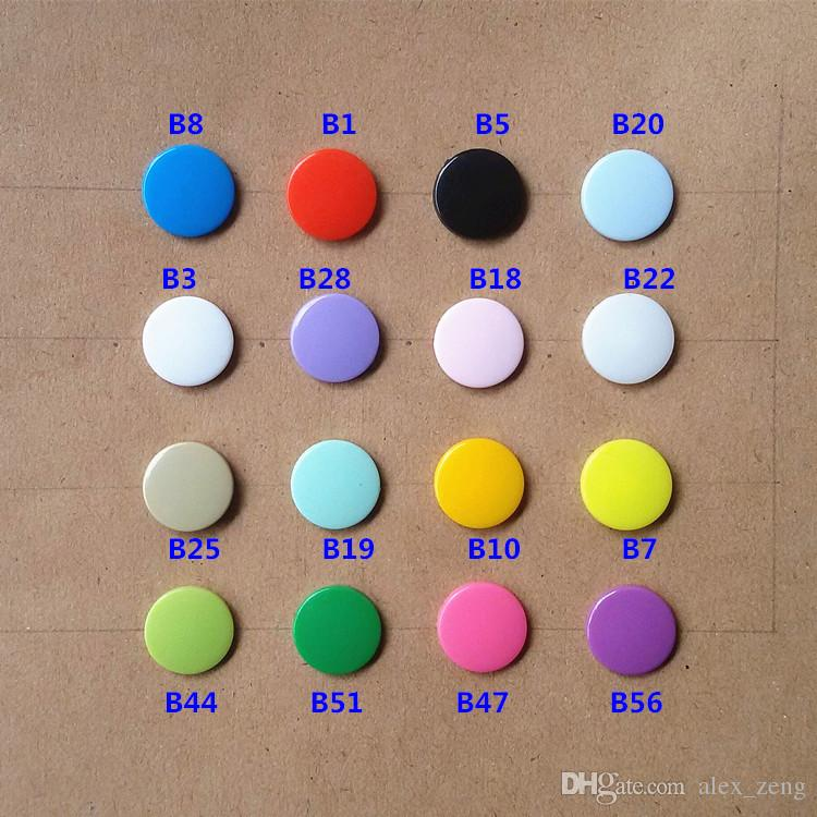 T5 Plastic Snap Buttons Fasteners mixed color Snap button 12.4MM Buttons Cheap Buttons