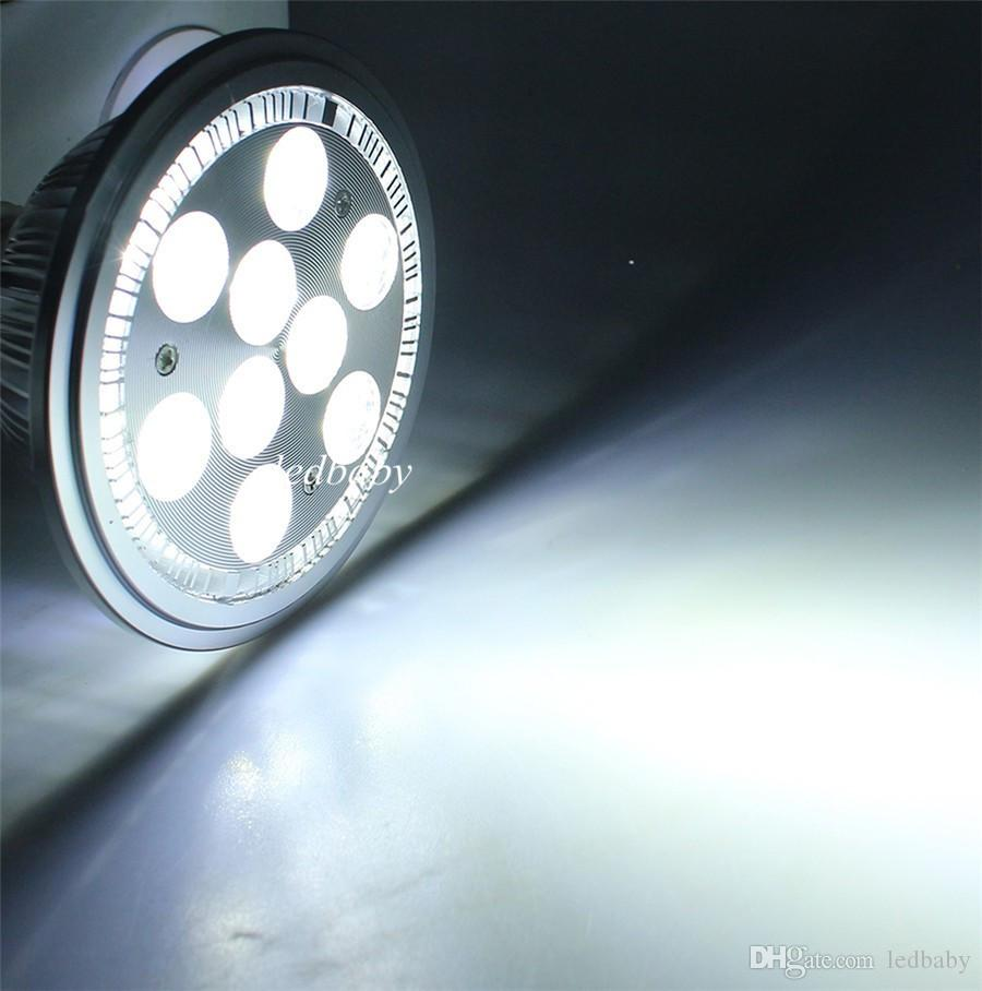 High Power AR111 LED Spotlight 10W 14W 18W 24W G53 Aluminum Alloy Led Bulbs AC85-265V Replace Halogen for Business Lighting