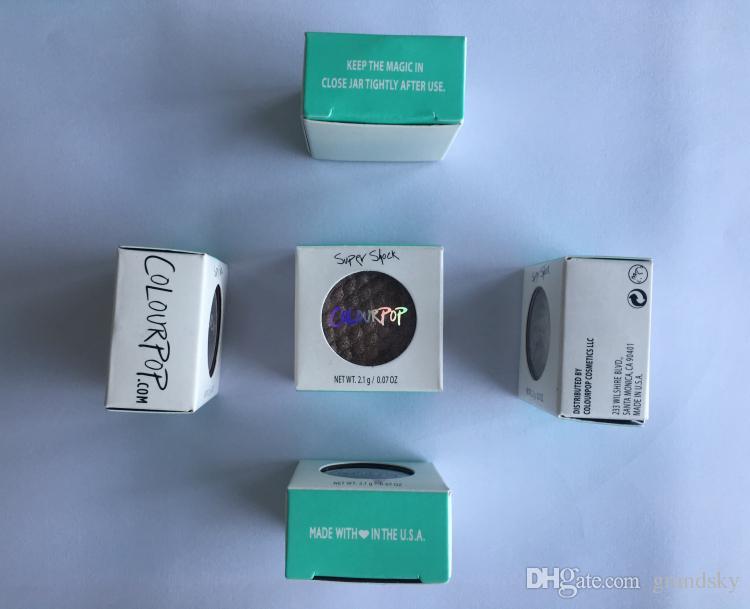 최신 메이크업 컬러 팝업 Colourpop 블러쉬 단일 Colourpop 아이섀도 가루 내구성 높은 진주 높은 화장품 화장품 무료 배송