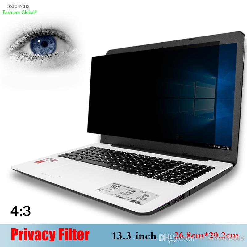 reputable site 3a8e6 c115e 13.3 inch Privacy Filter Anti-glare screen protective film , SZEGYCHX For  Notebook 4:3 Laptop 26.8cm*20.2cm