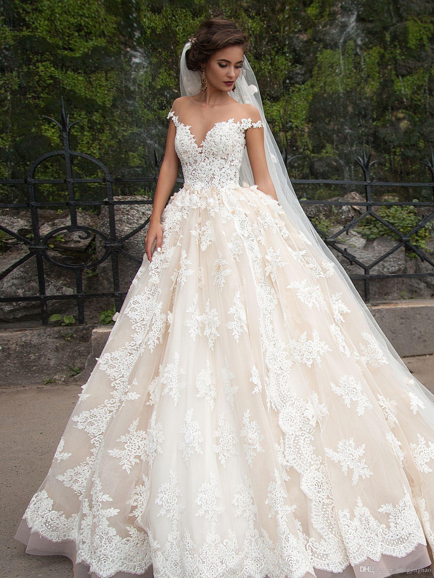 Vestido de novia blanco largo