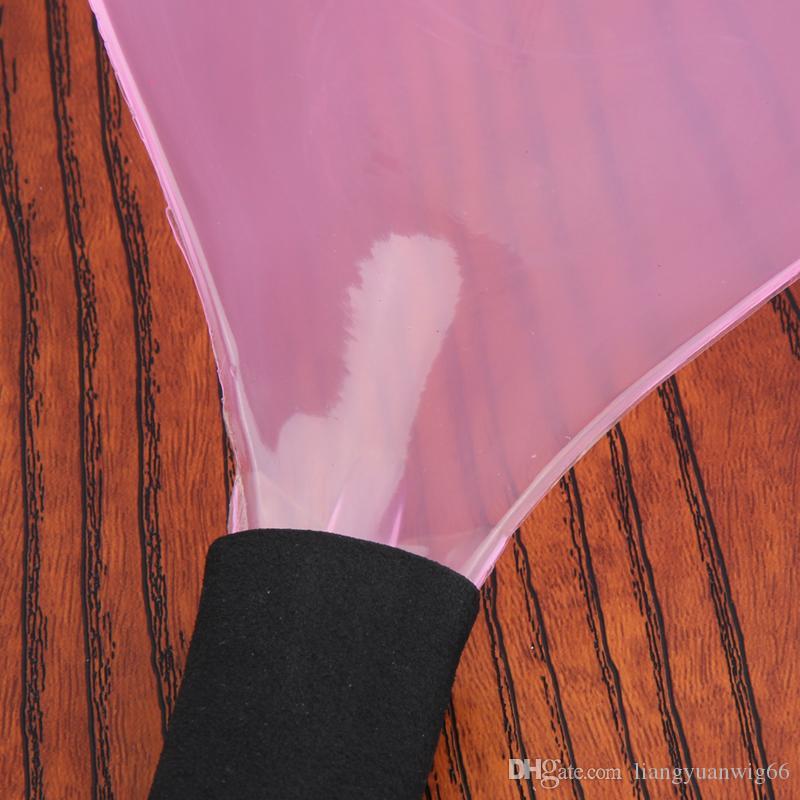 Nueva Llegada Peluquería Plástica Hairspray Perfume Máscara Shield Eyes Face Protector Hairspray Tool