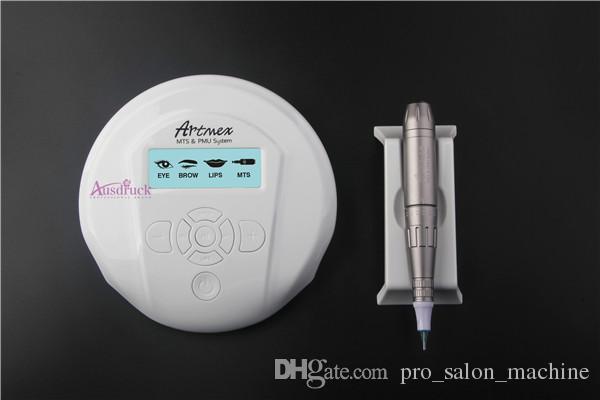 Permanent Makeup Tattoo Machine Digital Artmex Eyebrow Lip Tattoo Pen+5 Needles