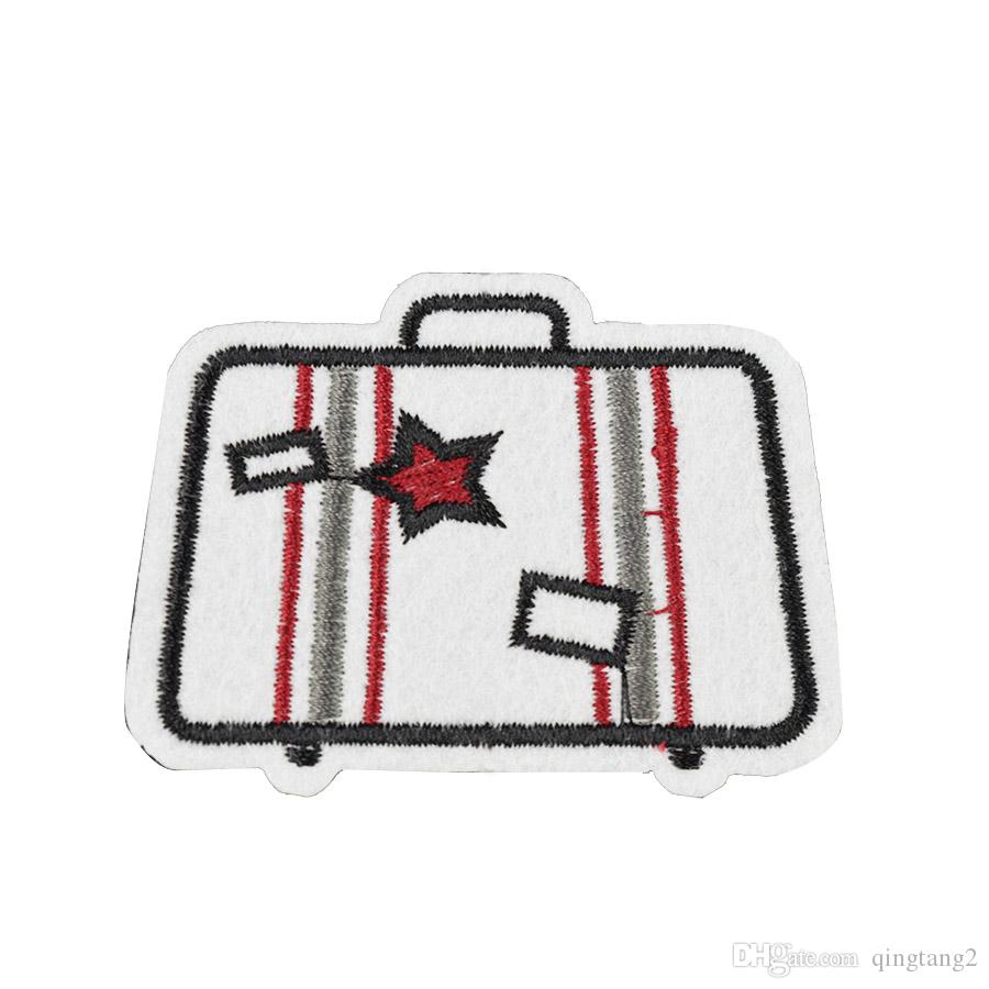 trunk embroidery patches for clothing iron patch for cloth applique sewing accessories stickers badge on clothes iron on patches DIY