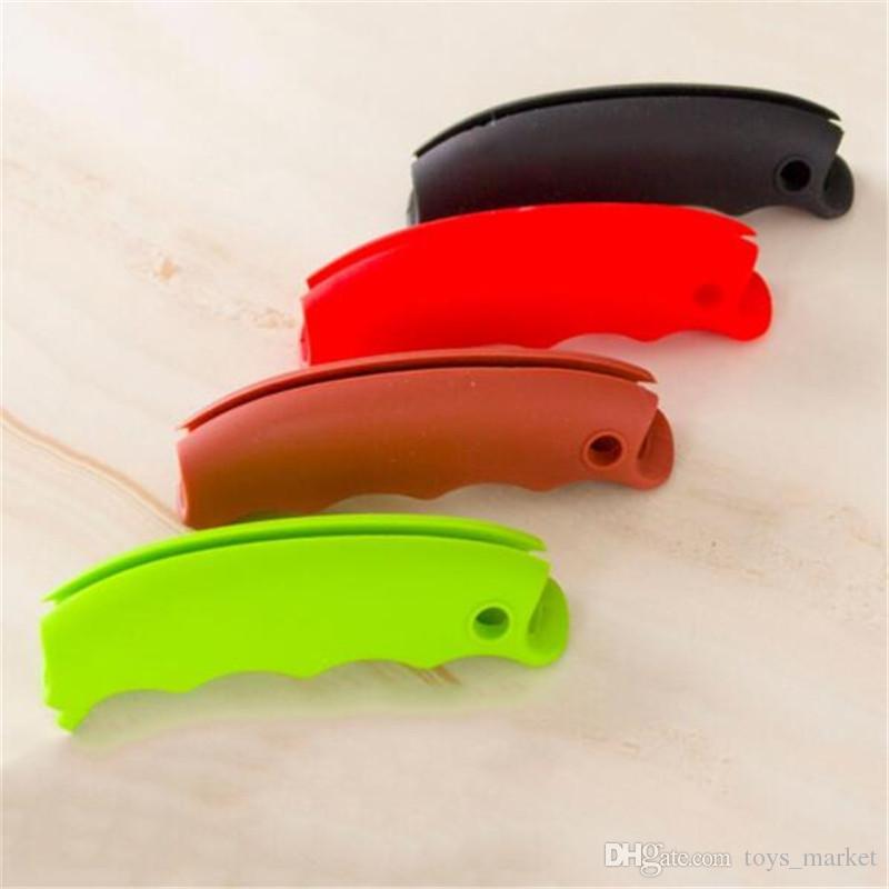 Bolsa de compras Cesta Carrier Grocery Holder Handle Cómodo Grip Popular Carry Shopping Basket Cómodo agarre multicolor