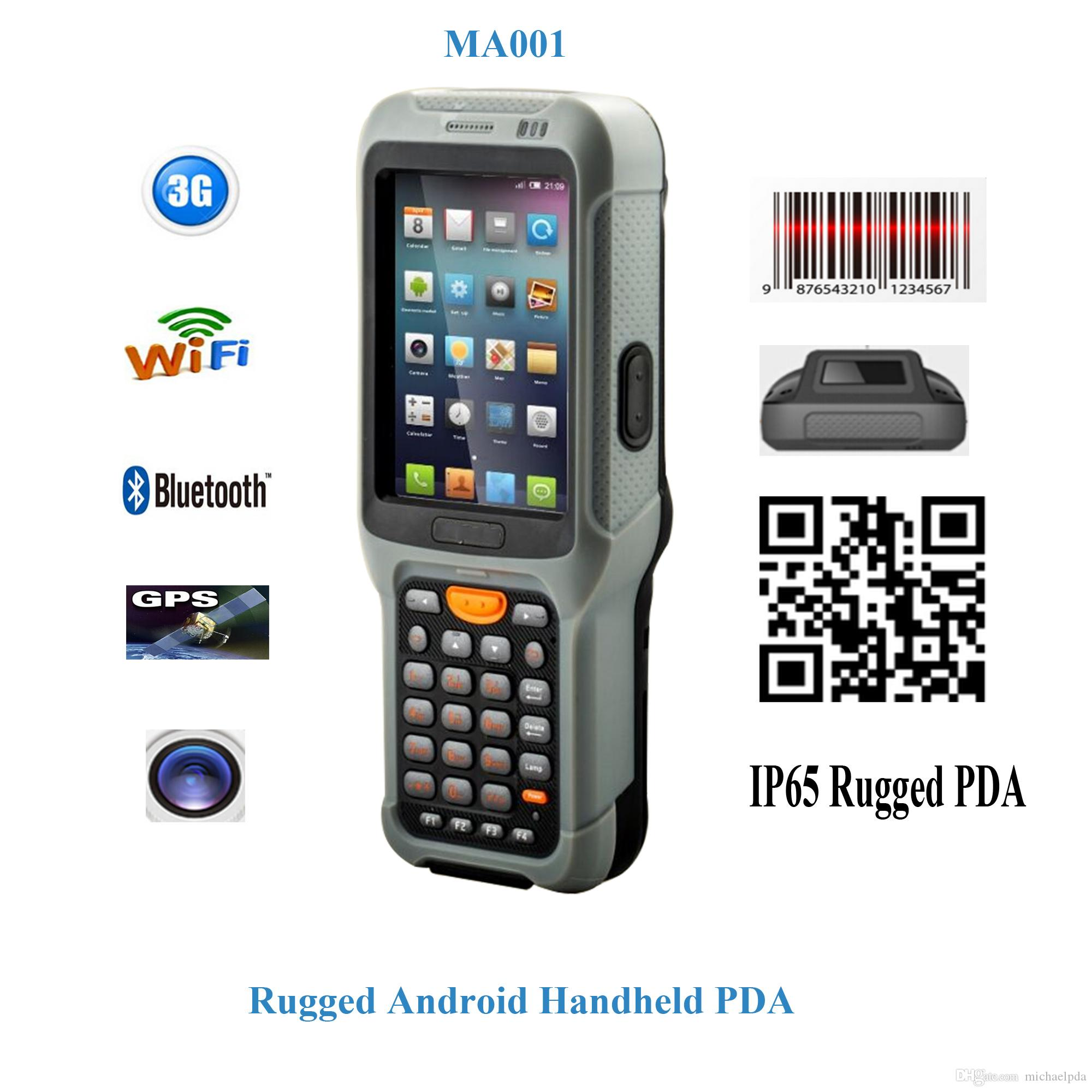 2018 Ma 001 Android Rugged Handheld Scanner Android
