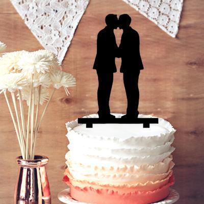 Sex topper cake Same wedding