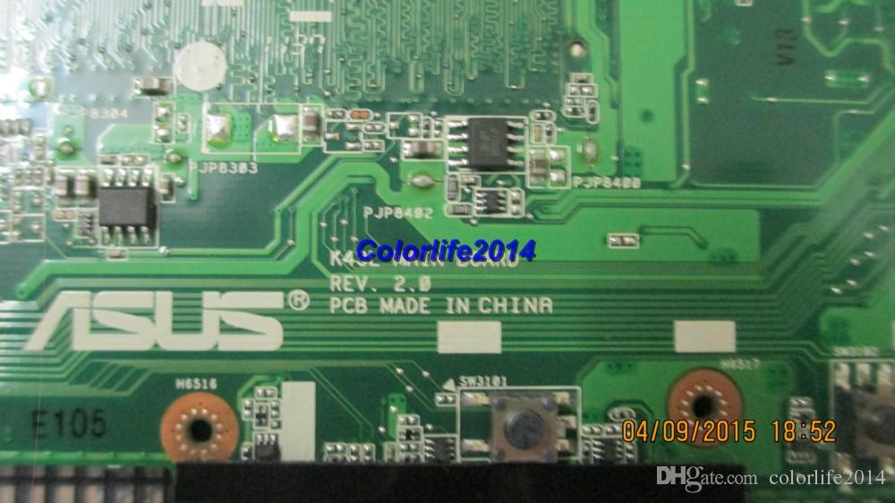 for ASUS K84L K43L rev 2.0 Laptop Motherboard System board/Mainboard fully tested & working perfect