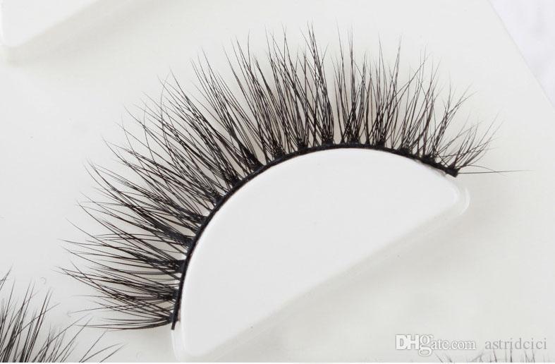 Luxurious SEXY Messy Lash Extension 3D Mink Eyelashes Natural False Eyelashes Handmade Fake Eye Lashes Extension for Beauty Makeup
